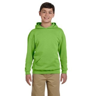 Boy's Nublend Kiwi Hooded Pullover Sweatshirt