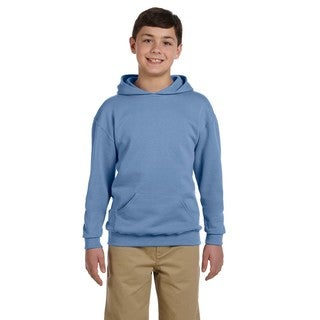 Boy's Nublend Light Blue Hooded Pullover Sweatshirt