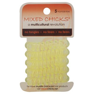 Mixed Chicks 5-piece Spring Bands Light Yellow
