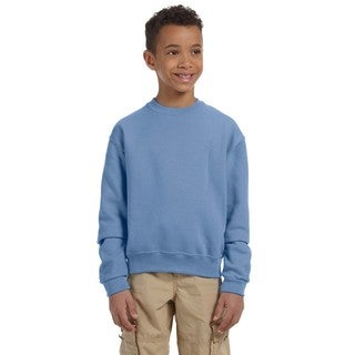 Boy's Nublend Light Blue Crew Neck Sweatshirt