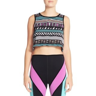 Minkpink Personal Best Multi-color Crop Top