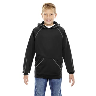 Pivot Boys' Black Fleece Performance Hoodie