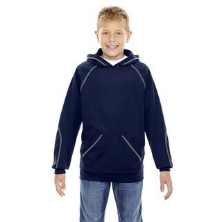 Pivot Boy's Classic Navy Fleece Performance Hoodie