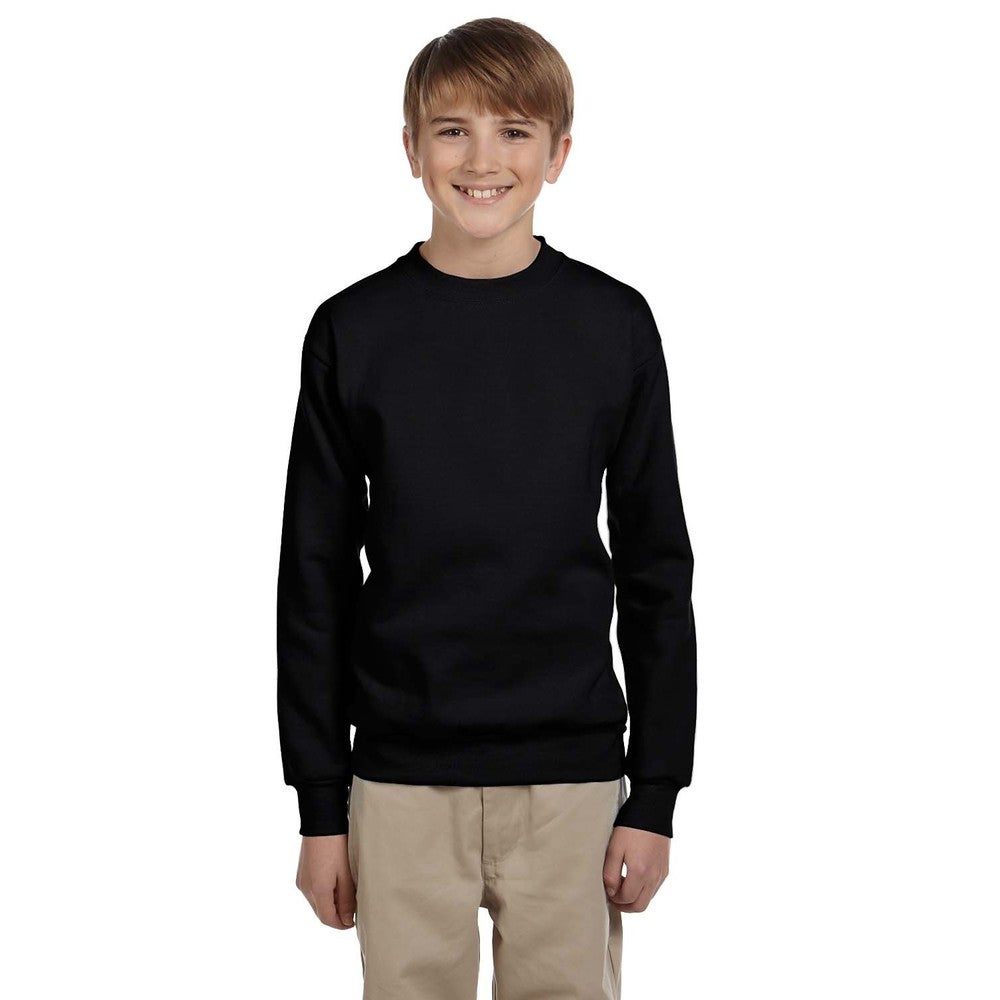 Kelly Green Hanes Boys 5 Pack Ultimate Comfortsoft Crew X-Large