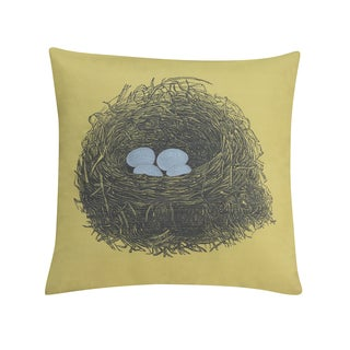 Seedling by Thomas Paul Aviary Nest 18-inch Decorative Pillow