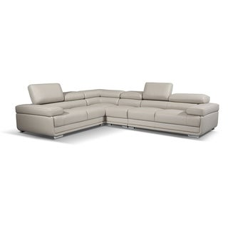 Luca Home Reversible Grey Sectional