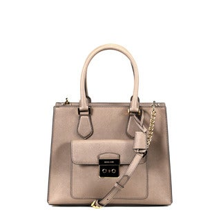 Michael Kors Dark Dune Medium Bridgette East/West Tote Bag