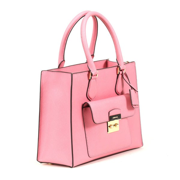 fb25917a72d9 Shop Michael Kors Misty Rose Medium Bridgette East West Tote Bag ...