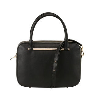 Michael Kors Black Large Jessica Satchel Handbag