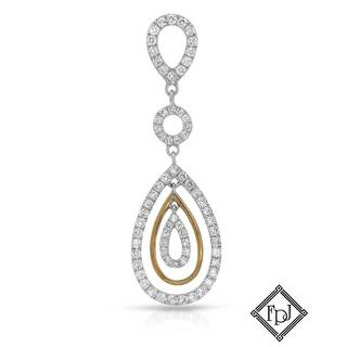 Fay Pay Jewels 18k Gold 3/4ct TW Diamond Pendant