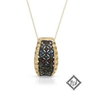 Fay Pay Jewels 14k Gold 1/3ct TW Diamond Necklace