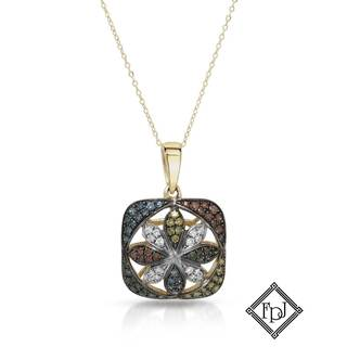 Fay Pay Jewels 14k Gold 2/5ct TW Diamond Necklace