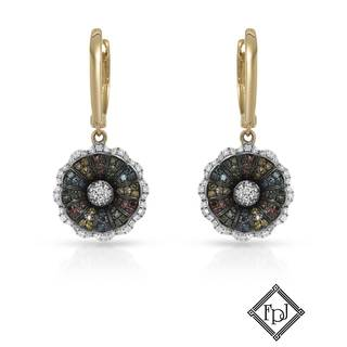 Fay Pay Jewels 14k Yellow Gold 3/5ct TW Diamond Earrings