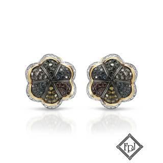 Fay Pay Jewels 14k Gold 3/4ct TW Diamond Earrings