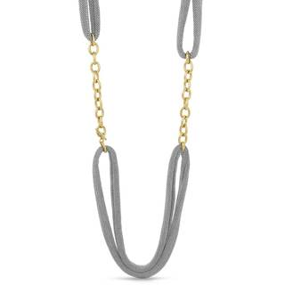 Adami & Martucci Gold over Silver Thick and Long Necklace
