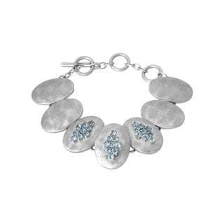 Adami & Martucci Sterling Silver Topaz Bracelet