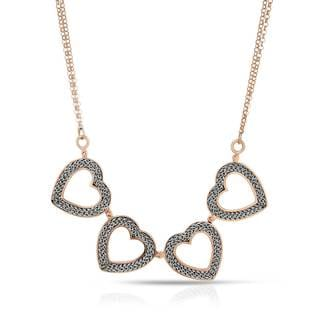 Adami & Martucci Sterling Silver Heart Necklace