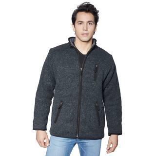 Laundromat Men's Oxford Full-zip Sweater|https://ak1.ostkcdn.com/images/products/12174451/P19025579.jpg?impolicy=medium