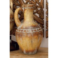 The Curated Nomad Belli Ceramic Tuscan Urn