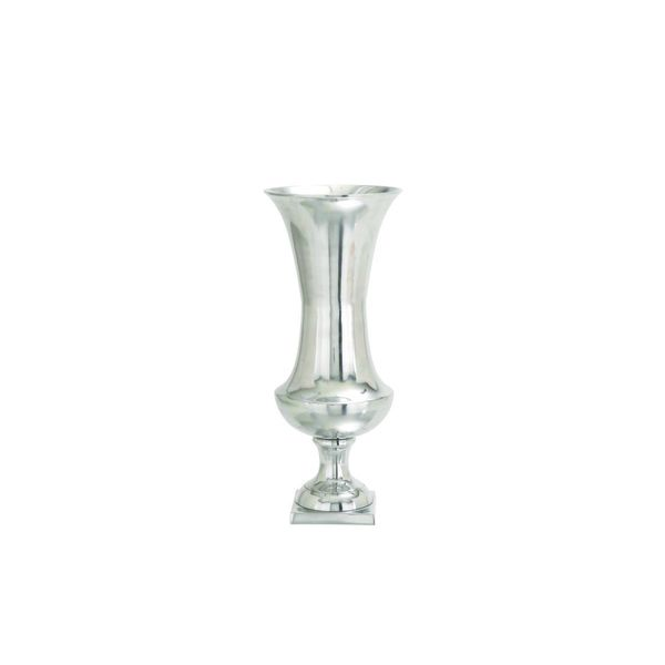 Aluminum 9-inches Wide x 21-inches High Flower Vase