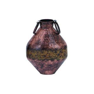 Mediterranean Dark Brown Small Flower Vase