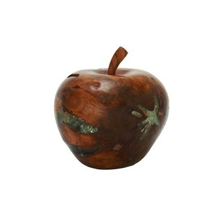 Teak Wood Resin 11-inch Apple