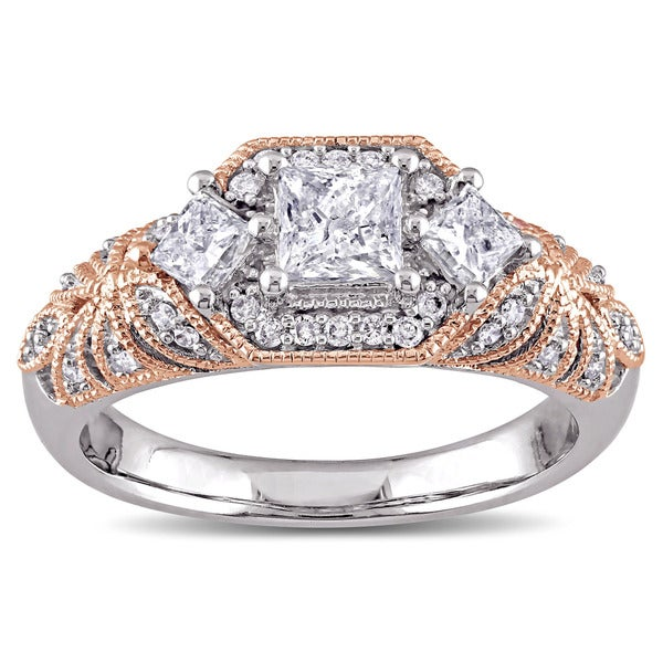 Size-12.5 G-H,I2-I3 1//6 cttw, Diamond Wedding Band in 10K White Gold