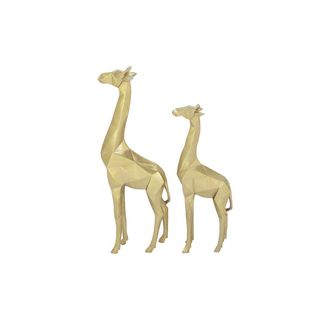 Polystone Gold Giraffe