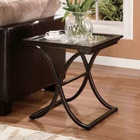 Upton Home Vogue End Table (As Is Item)