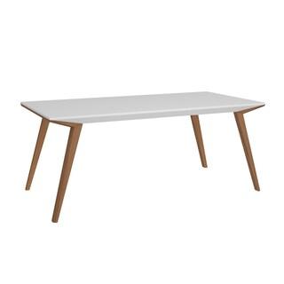 Bellini Branden White Wood Dining Table