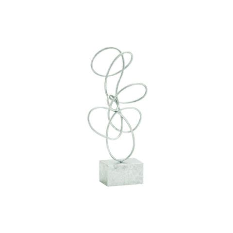 Strick & Bolton Oehlen Iron Abstract Decorative Sculpture