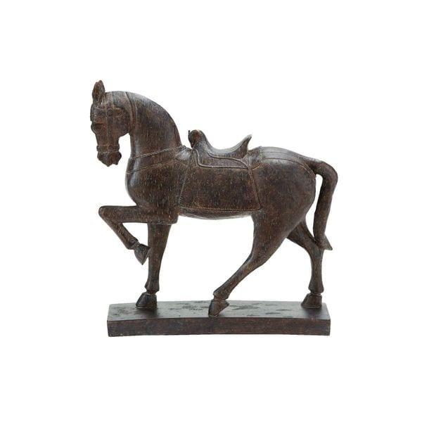 Polystone 15-inch High x 14-inch Wide Horse Sculpture