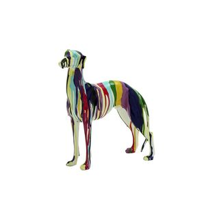 The Curated Nomad Merced Rainbow Polystone Dog