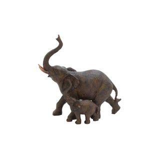 PS 11-inch x 11-inch Elephant Sculpture