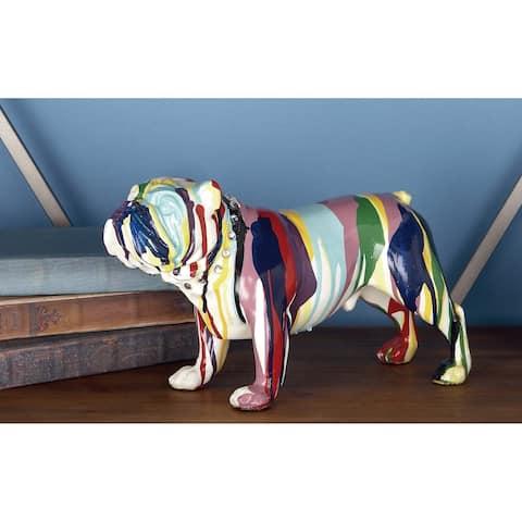 The Curated Nomad Merced Rainbow Bulldog Figure