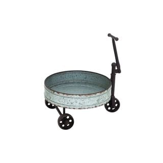 Metal Barrel Cart