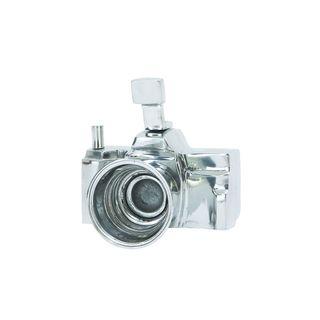 Silver-colored Metal Camera Replica