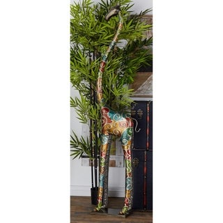 Metal 17-inches Wide x 73-inches High Giraffe