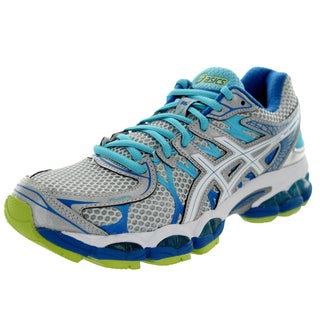 Asics Women's Gel-Nimbus 16 Lightning/White/Turquoise Running Shoe