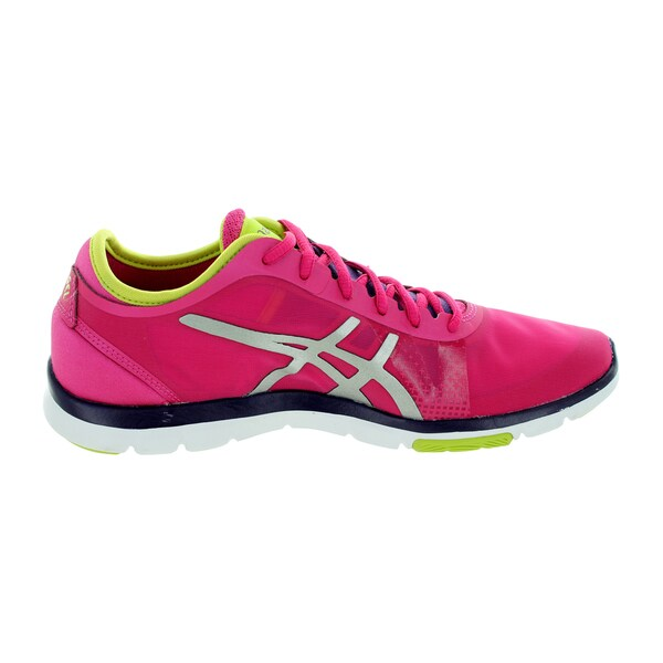 Shop Asics Women's Gel Fit Nova Hot PinkverLime Training