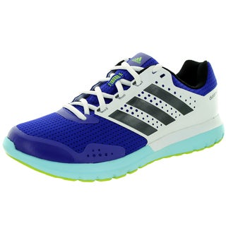 Adidas Women's Duramo 7 W White/Black/Royal Blue Running Shoe