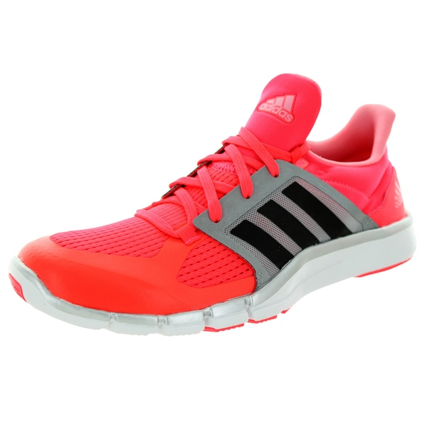 cheap for discount cbeba e8cb2 Adidas Womenx27s Adipure 360.3 W Flash RedDgh Solid Greyver Running