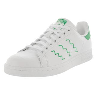 Adidas Women's Stan Smith W Originals White/White/Green Casual Shoe