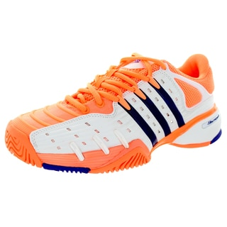 Adidas Women's Barricade V Classic Flash Orange/Ngtfla/FTWhite Tennis Shoe