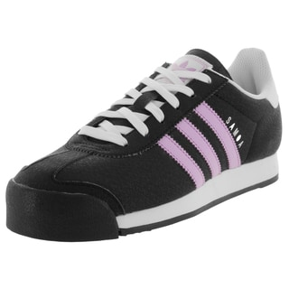 Adidas Women's Samoa W Originals Black/Purglo/White Casual Shoe