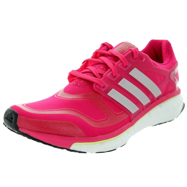d68a0b0c6 Shop Adidas Women s Energy Boost 2 Vivber Peamet Glow Running Shoe ...