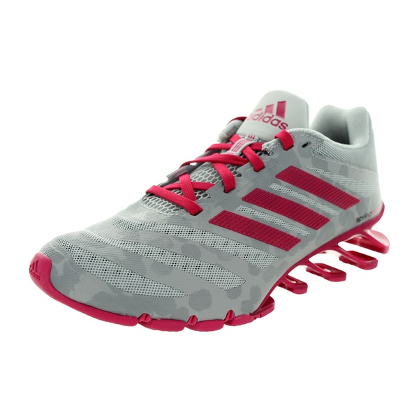 c085bde84759 Shop Adidas Women s Springblade Ignite W Clear Onyx Bold Pink Grey ...
