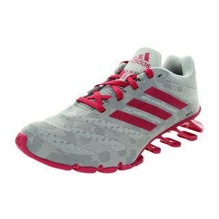 Adidas Women's Springblade Ignite W Clear Onyx/Bold Pink/Grey Running Shoe