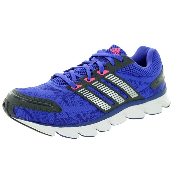 Adidas Women's Powerblaze W Purple And Black Running Shoe