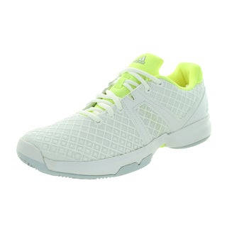 Adidas Women's Sonic Allegra White/Froyel Tennis Shoe